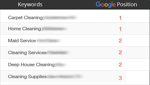 Ranking Cleaning Company